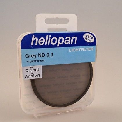 Heliopan 86 mm Slim ND 0,3 (2x 1f-Stop) filtre