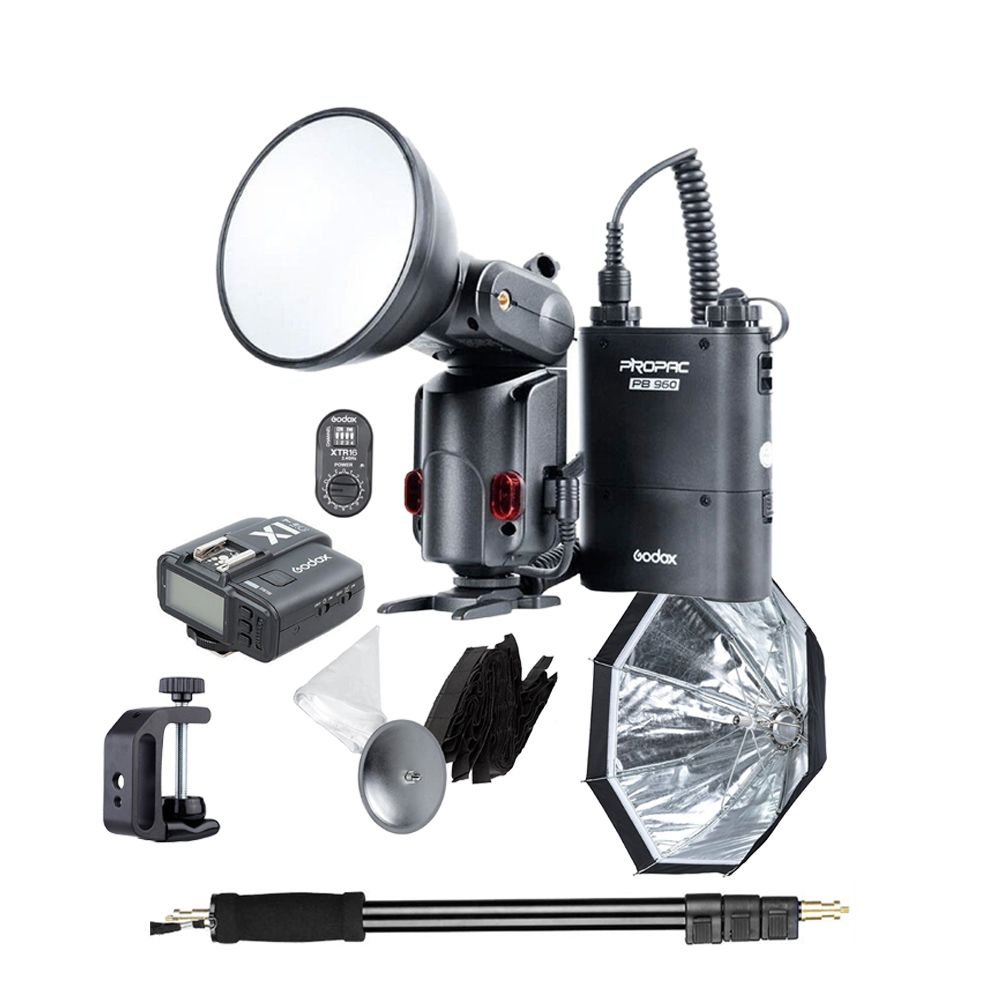 GODOX WITSTRO 180W Mini Paraflash Full Set Canon