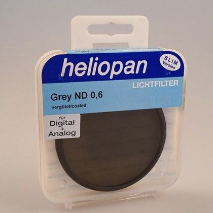 Heliopan 49 mm Slim ND 0,6 (4x 2f-Stop) filtre