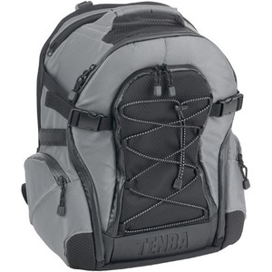 Tenba Shootout Backpack, Small (Silver and Black)