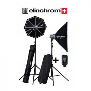 Elinchrom D-Lite RX ONE (100 Ws) 2 Li Kit