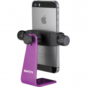 MeFoto Aluminum Phone Holder Purple