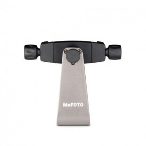 MeFoto Aluminum Phone Holder Titanium