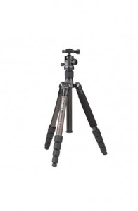 Benro C-0690T B00 Carbon Fiber Travel Angel Tripod Top Kafa ile