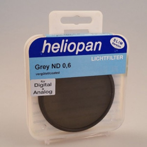 Heliopan 62 mm Slim ND 0,6 (4x 2f-Stop) filtre