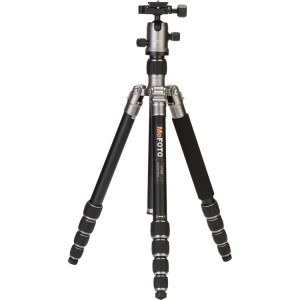 MeFOTO A1350Q1T RoadTrip Aluminum Travel Tripod Kit (Titanium)