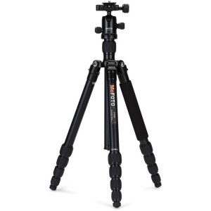 MeFOTO A1350Q1K RoadTrip Aluminum Travel Tripod Kit (Black) ​