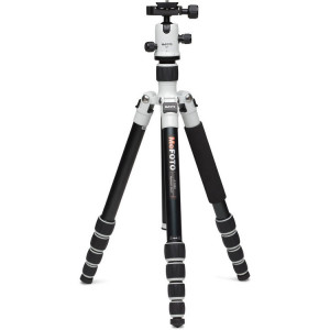 MeFOTO A1350Q1W RoadTrip Aluminum Travel Tripod Kit (White)