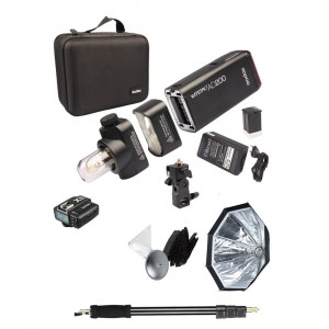 GODOX Pocket Flash AD200 Full Set Fuji