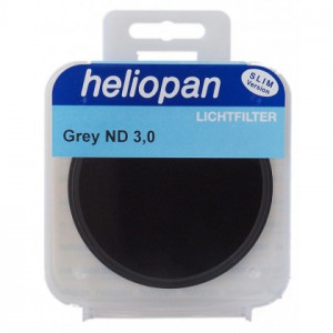 Heliopan 86 mm Slim ND 0,9 (8x 3f-Stop) filtre