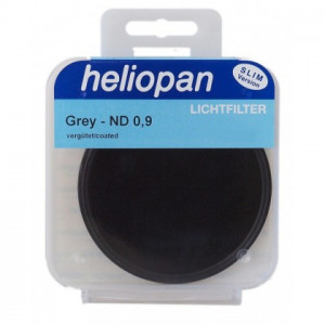 Heliopan 62 mm Slim ND 0,9 (8x 3f-Stop) filtre